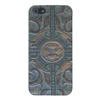 Old Tooled Leather Relic iPhone 5/5S Case