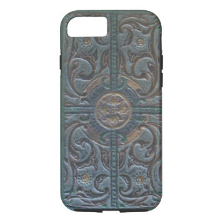 Old Tooled Leather Relic iPhone 7 Case