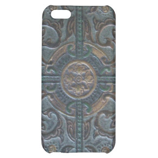 Old Tooled Leather Relic Case For iPhone 5C