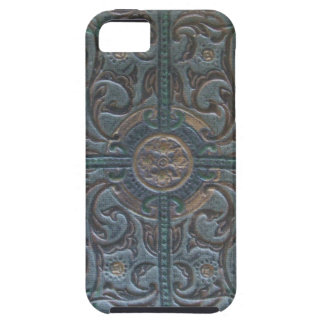 Old Tooled Leather Relic Tough iPhone 5 Case