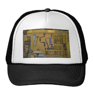old tools mesh hat