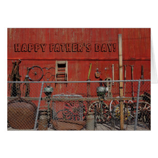 Old Tools Photo Unique Father's Day Card