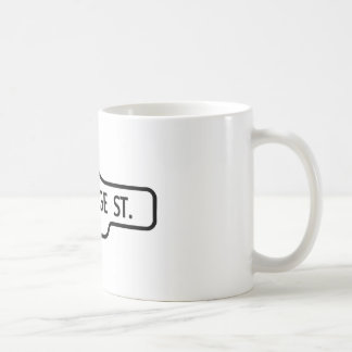 Old Toronto Street Sign - St George Street Coffee Mug