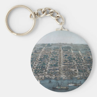 Old Town Alexandria Key Ring