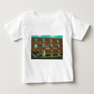 Old Town Building Baby T-Shirt