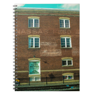 Old Town Building Spiral Notebook
