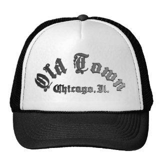 Old Town Chicago Sports Trucker Hat