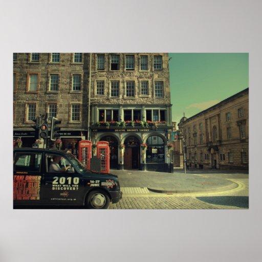 Old Town Edinburgh Poster