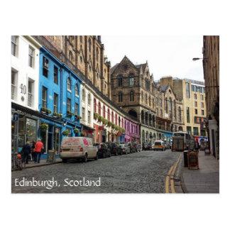 Old Town, Edinburgh, Scotland Postcard