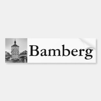 Old Town Hall and Obere Bridge in Bamberg Bumper Sticker