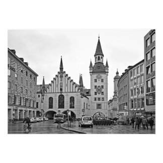 Old Town Hall in Munich Photo Print