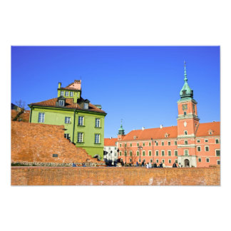 Old Town in Warsaw Photo Print