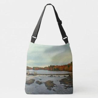 Old Town, Maine Autumn Scenery 2015 Crossbody Bag