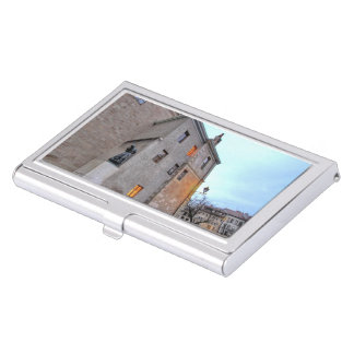 Old Town of Geneva Business Card Holder