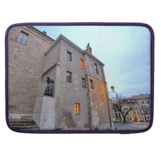 Old Town of Geneva Sleeve For MacBooks