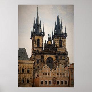 Old Town Prague Poster