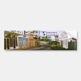 Old Town San Juan Puerto Rico Bumper Sticker
