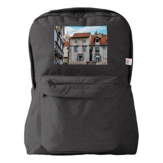 Old town, Split, Croatia Backpack