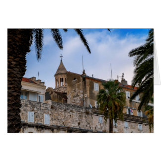 Old town, Split, Croatia Card