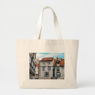 Old town, Split, Croatia Large Tote Bag