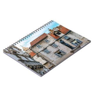 Old town, Split, Croatia Notebook