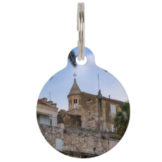 Old town, Split, Croatia Pet Name Tag