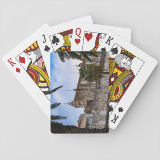 Old town, Split, Croatia Playing Cards