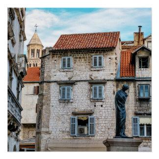 Old town, Split, Croatia Poster