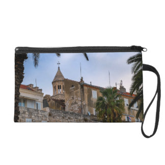 Old town, Split, Croatia Wristlet Purse