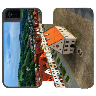 Old town square in Bardejov by day, Slovakia Incipio Watson™ iPhone 5 Wallet Case