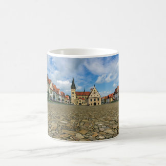Old town square in Bardejov, Slovakia Coffee Mug