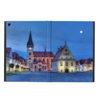 Old town square in Bardejov, Slovakia,HDR iPad Air Cases