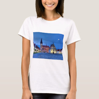 Old town square in Bardejov, Slovakia,HDR T-Shirt