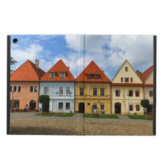 Old town square in Bardejov, Slovakia iPad Air Cases