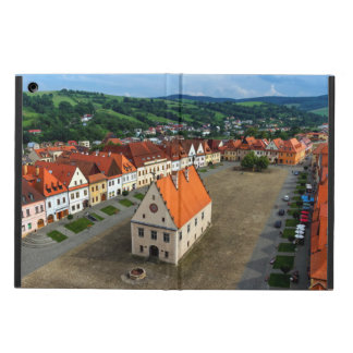 Old town square in Bardejov, Slovakia iPad Air Covers