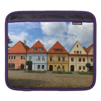 Old town square in Bardejov, Slovakia iPad Sleeve