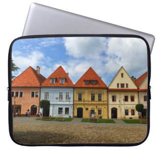 Old town square in Bardejov, Slovakia Laptop Sleeve