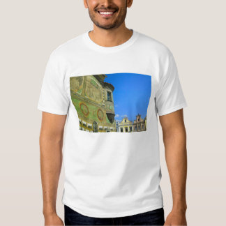 Old town square surrounded by 16th-century t-shirt