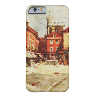 Old town, vintage watercolor, iPhone 6/6s case