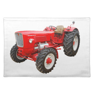Old tractor Güldner G 75 AS Placemat