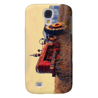 old tractor red machine vintage samsung galaxy s4 covers