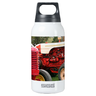 Old tractors farm machinery 2 insulated water bottle