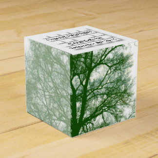 Old Tree Modern Design Family Reunion Favor Box