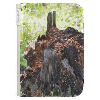 Old Tree Stump Kindle Case