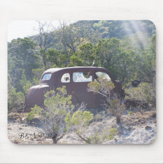 old truck, B&S Prodducts Mouse Pad