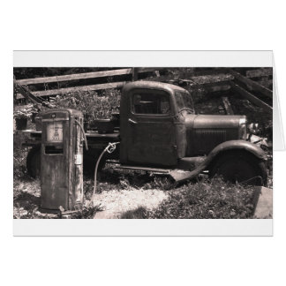 Old Truck Card