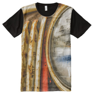 Old Truck Design All-Over Print T-Shirt