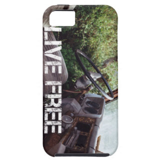 Old Truck, Live Free Tough iPhone 5 Case