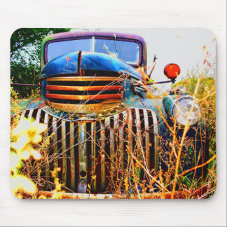 old truck mousepad
