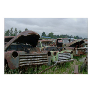 OlD Trucks Photo Print